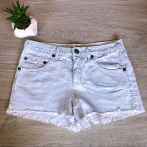 Free People Striped Shorts, Bottoms